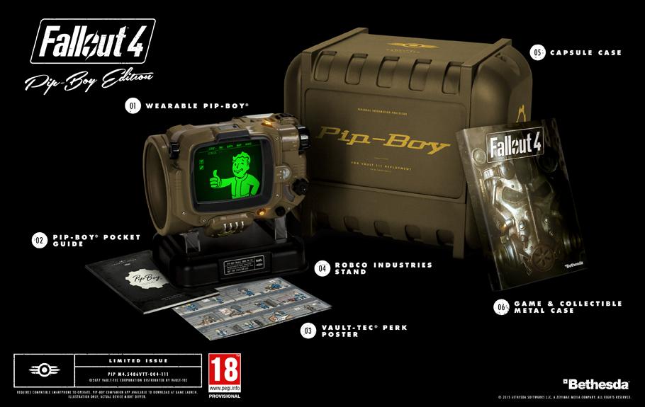 Fallout 4 sběratelská edice
