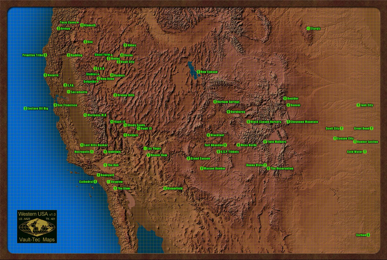 Fallout Universum - západ